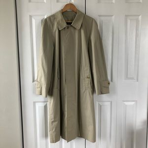 Burberry's Made In England Vintage Trench Coat